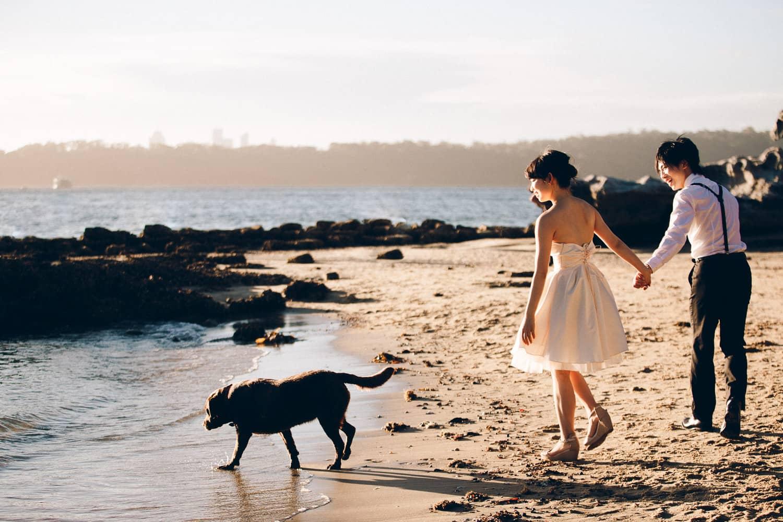 Haruka + Simon Engagement | Vaucluse Beach