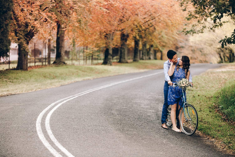 Mai + Roy Engagement | Colourful Autumn