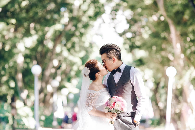Hebe + Darren Pre-Wedding | Hyde Park, The Rocks
