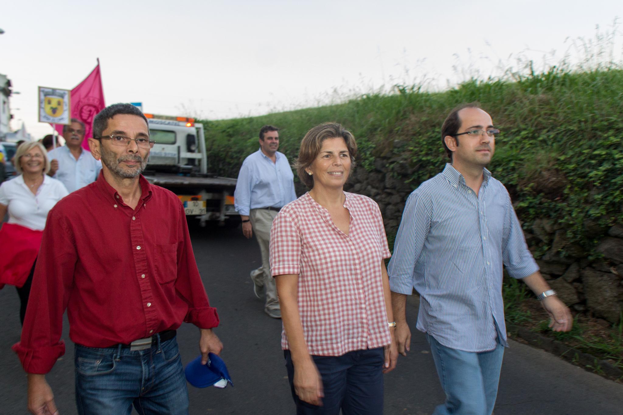 Campanha eleitoral do PS, à junta de freguesia da Fajã de Cima 2017