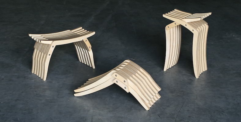 Interlace Stool