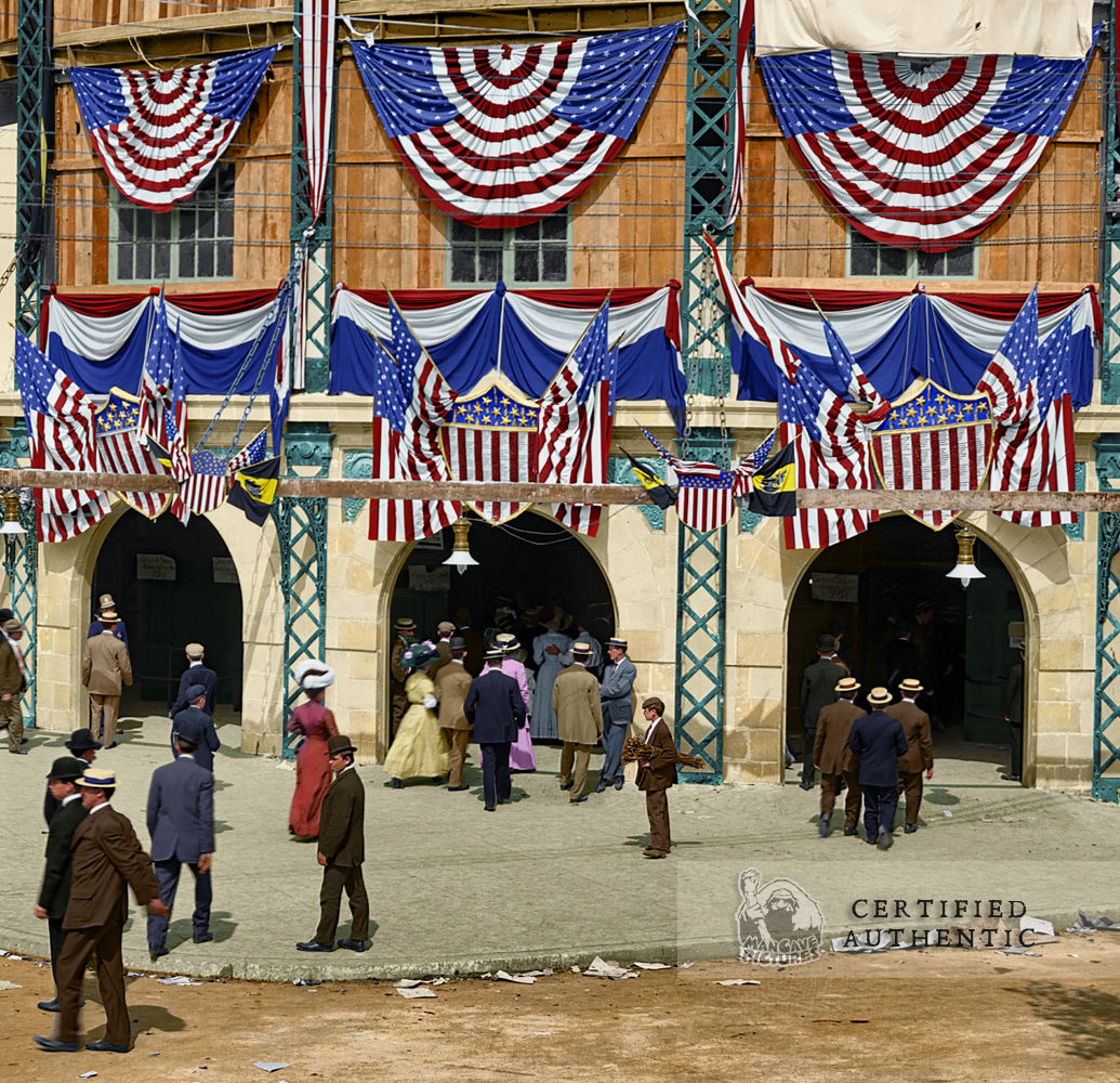 Forbes Field - Pittsburg. Grand Opening (1909)