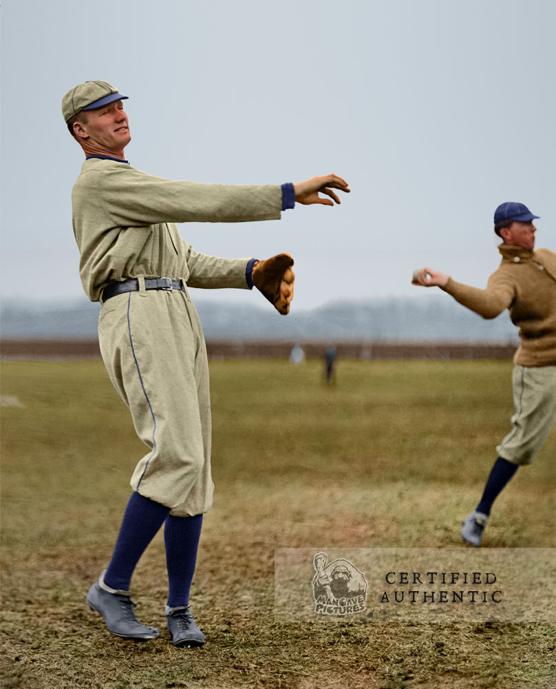 Walter Johnson and Bob Groom - Washington Senators (1912)