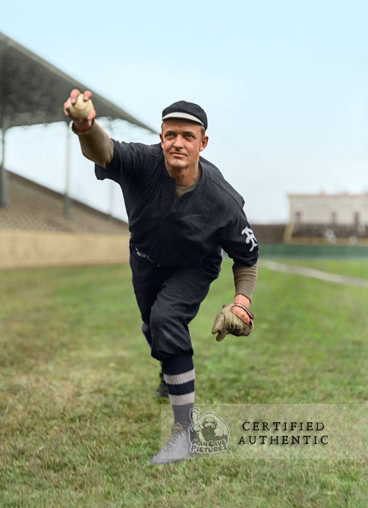Christy Mathewson - New York Giants in 1911 World Series Uniform (1912)