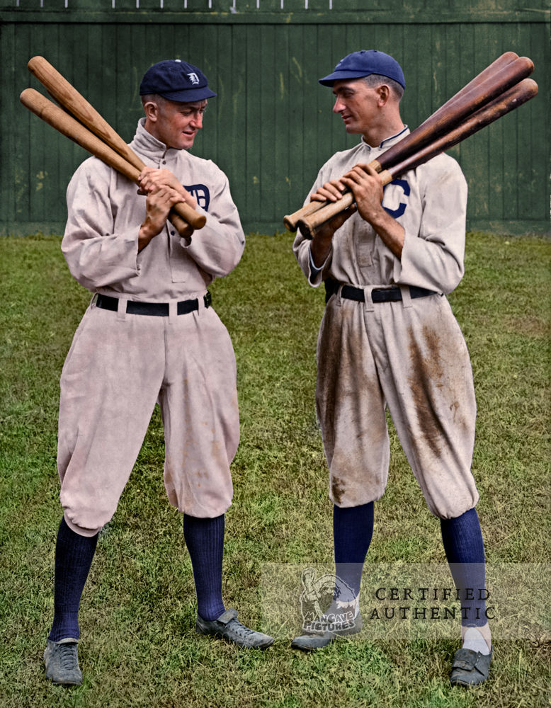 Ty Cobb - Detroit Tigers and Shoeless Joe Jackson - Cleveland Naps (1911)