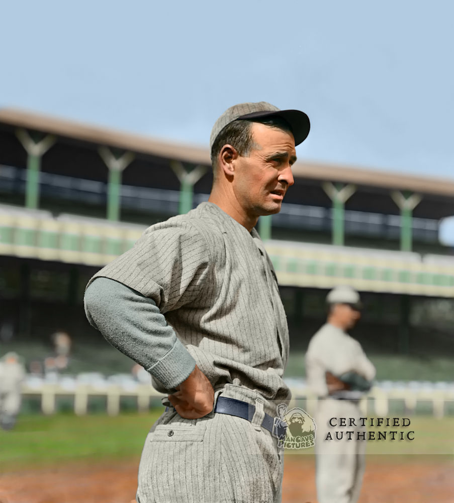 Frank Chance - Manager, Chicago Cubs at Polo Grounds (1910)