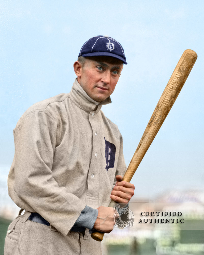 Ty Cobb - Detroit Tigers (1910)