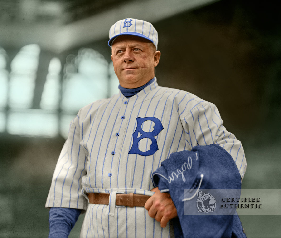 Wilbert Robinson - Manager, Brooklyn Robins (1914)