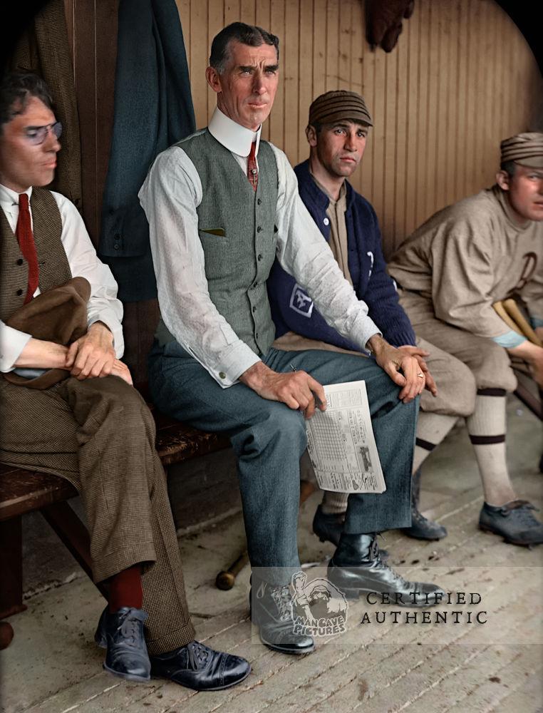 """Cornelius """"Connie"""" Mack - Manager, Philadelphia Athletics (1913)"""