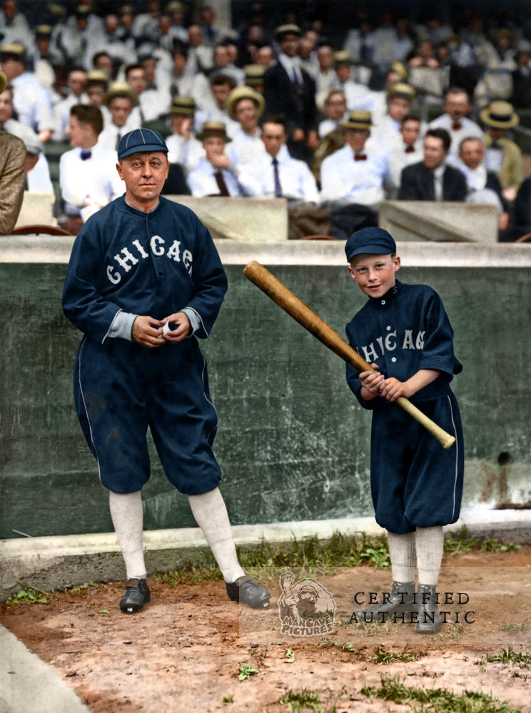 Clarence 'Pants' Rowland & Clarence Jr. - Manager, Chicago White Sox (1915)