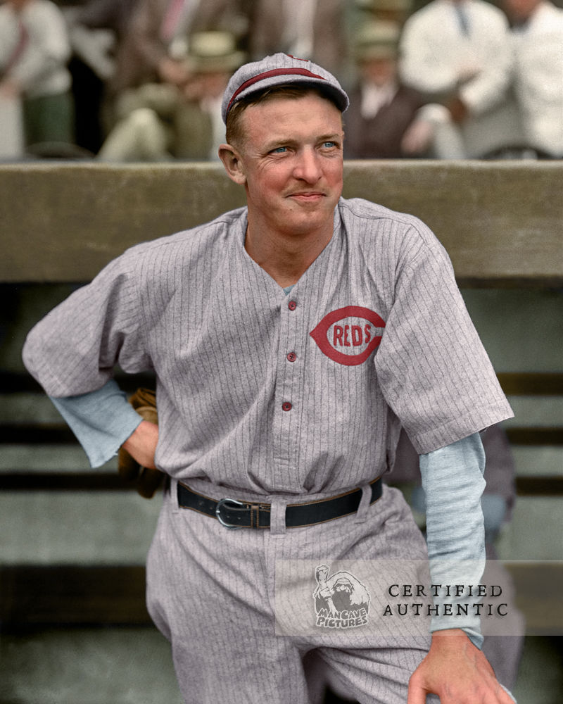 Christy Mathewson - Player/Manager Cincinnati Reds (1916)