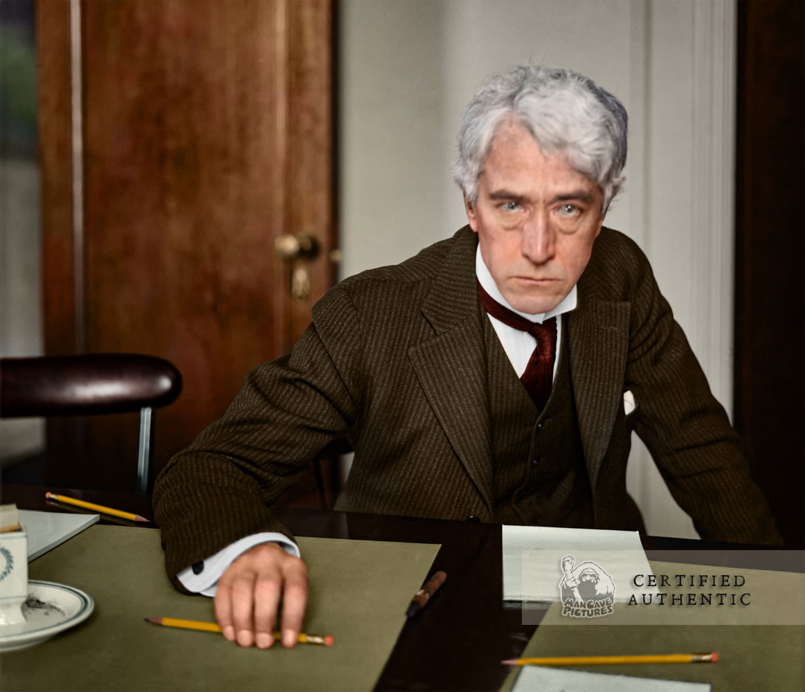 Judge Kenisaw Mountain Landis - 1st Commissioner of Major League Baseball (1920)