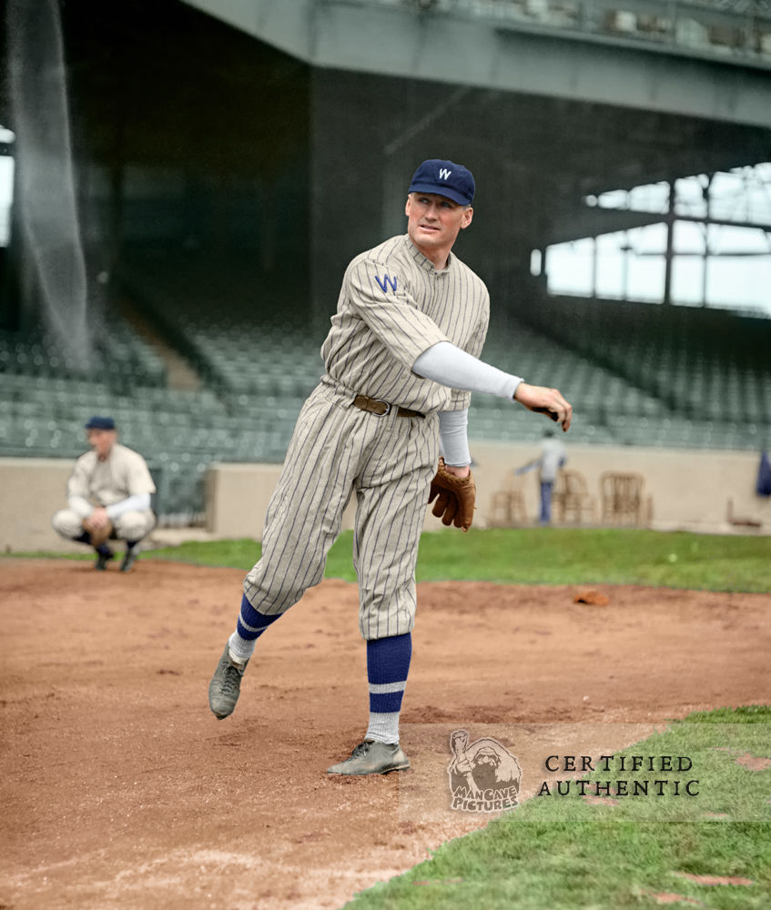Walter 'The Big Train' Johnson - Washington Senators (1924)