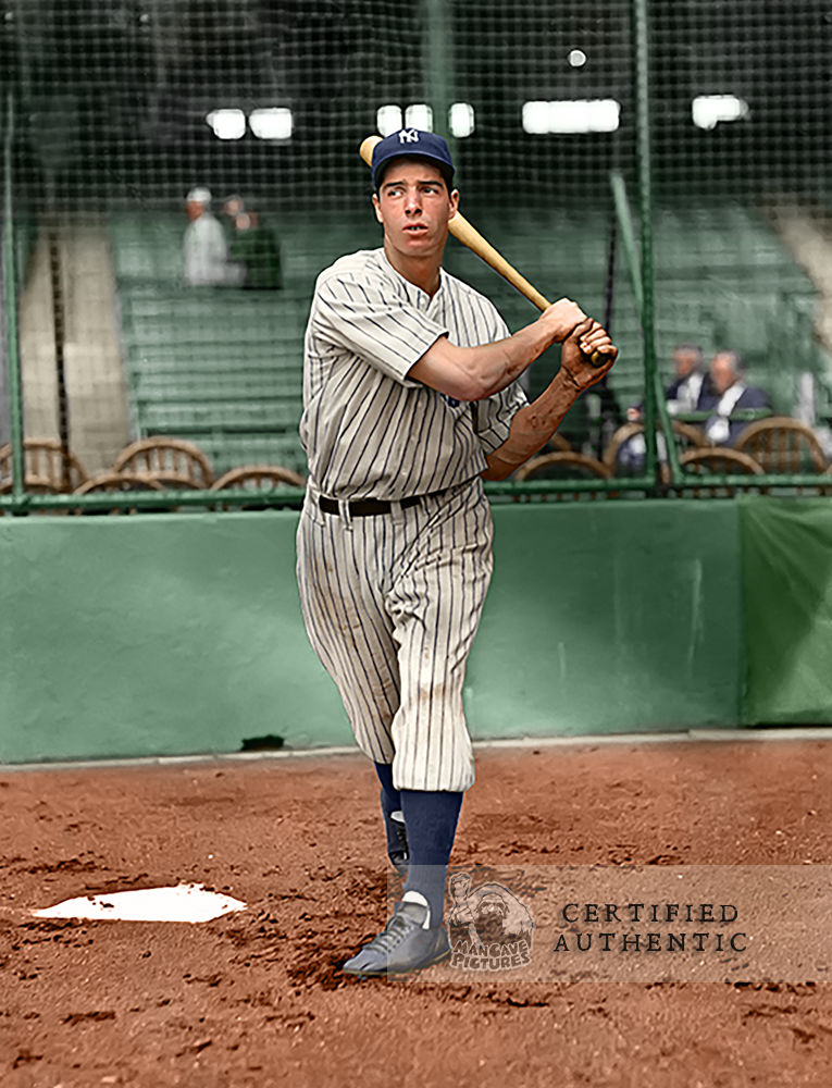 Joe DiMaggio - New York Yankees Rookie (1936)