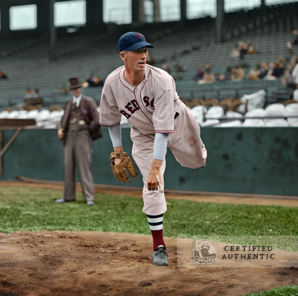 Lefty Grove - Boston Red Sox (1936) © 1936 Leslie Jones