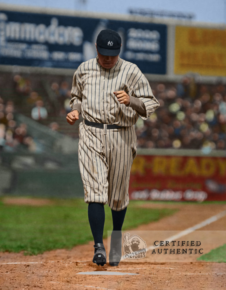 Babe Ruth - New York Yankees at the Polo Grounds (1920)