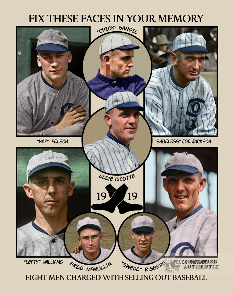 8 Men Out - Chicago White Sox (1919-1920)