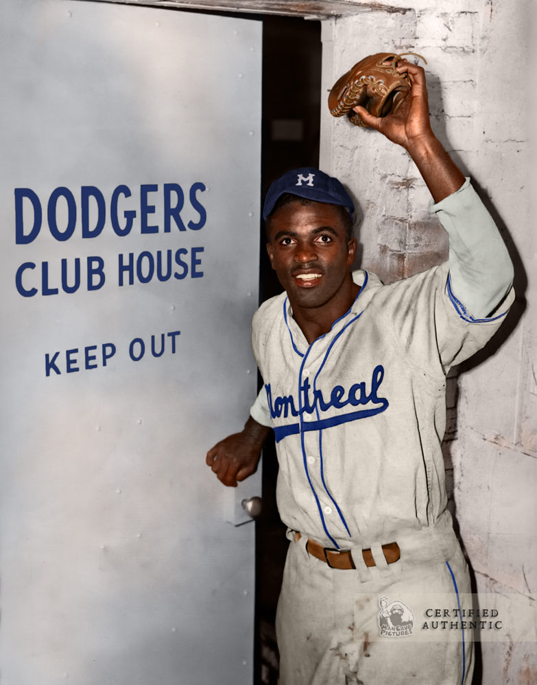 Jackie Robinson - Montreal Royals / Brooklyn Dodgers (1947)