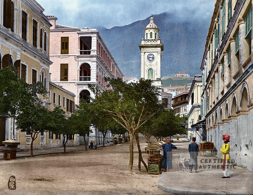 Pedder St., Victoria, Hong Kong (1871)