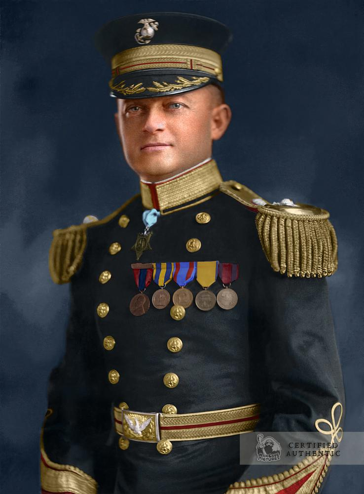 Lieutenant Colonel George Reid, USMC (1925) Medal of Honor