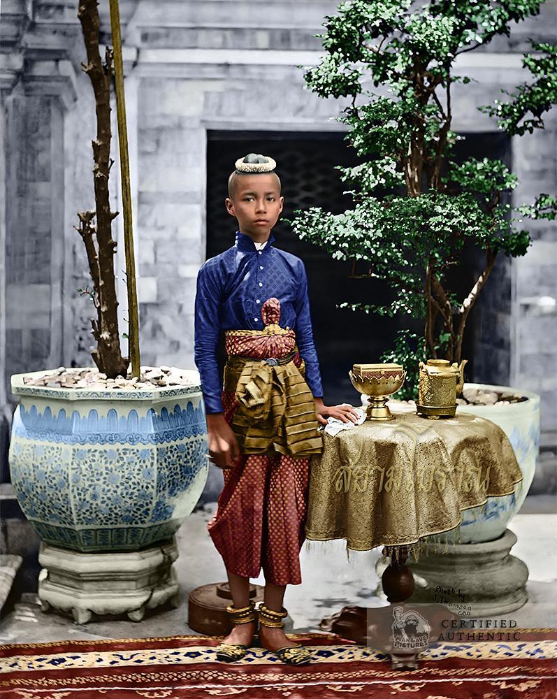 Siamese Crown Prince Chulalongkorn (Rama V) (1865)