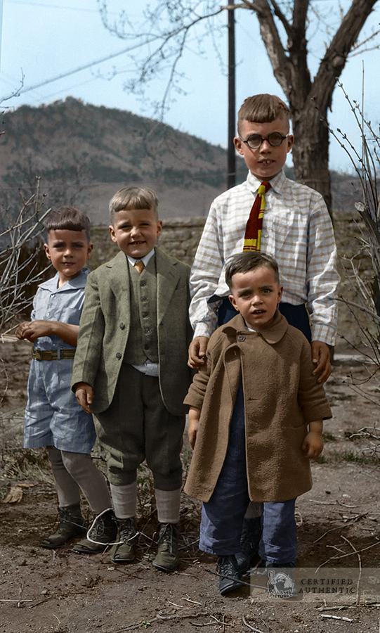 Four Brothers, Boulder CO, (1927)