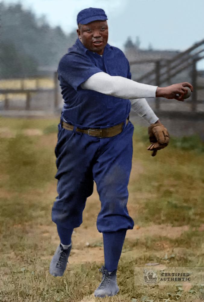 Rube Foster - Chicago Leland Giants (1909)
