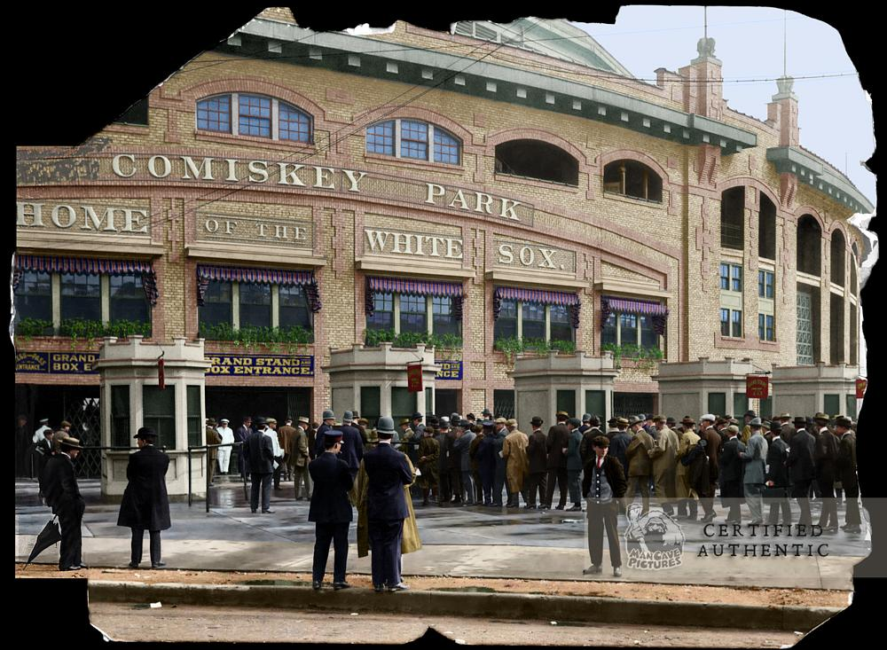 Comiskey Park - Home of the Chicago White Sox (1910)