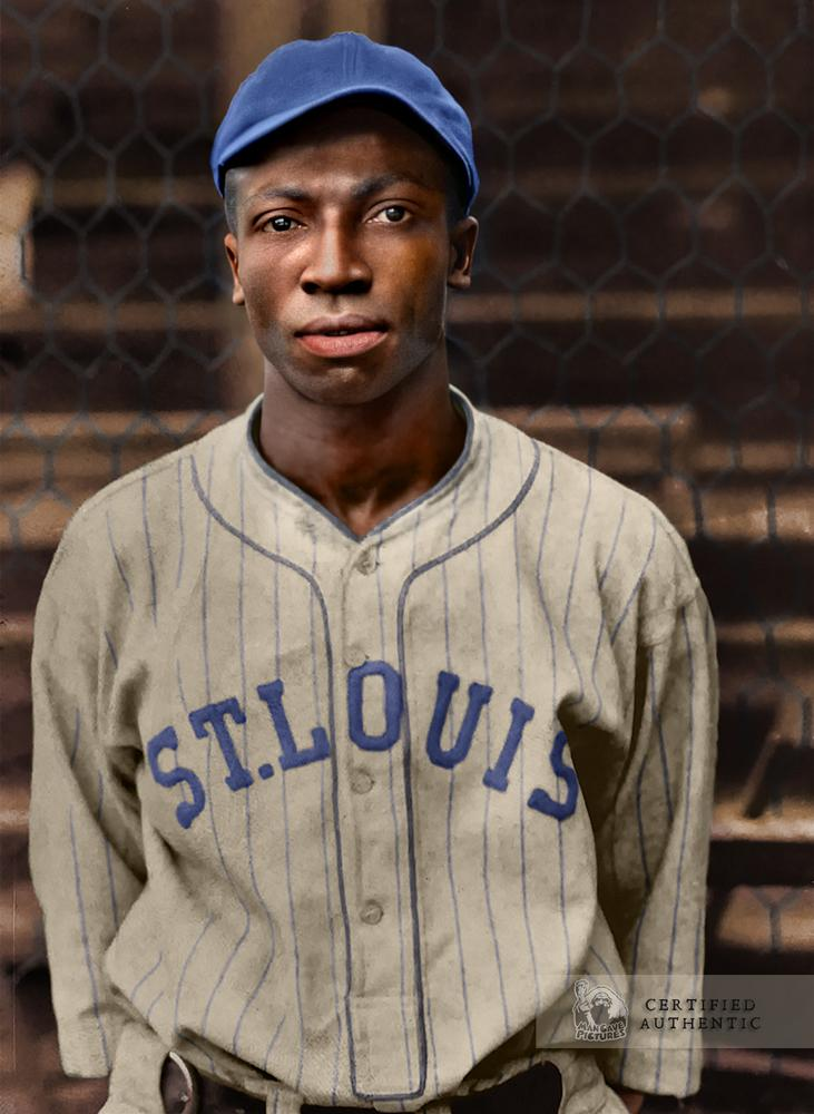 James 'Cool Papa' Bell - St. Louis Stars (1930)