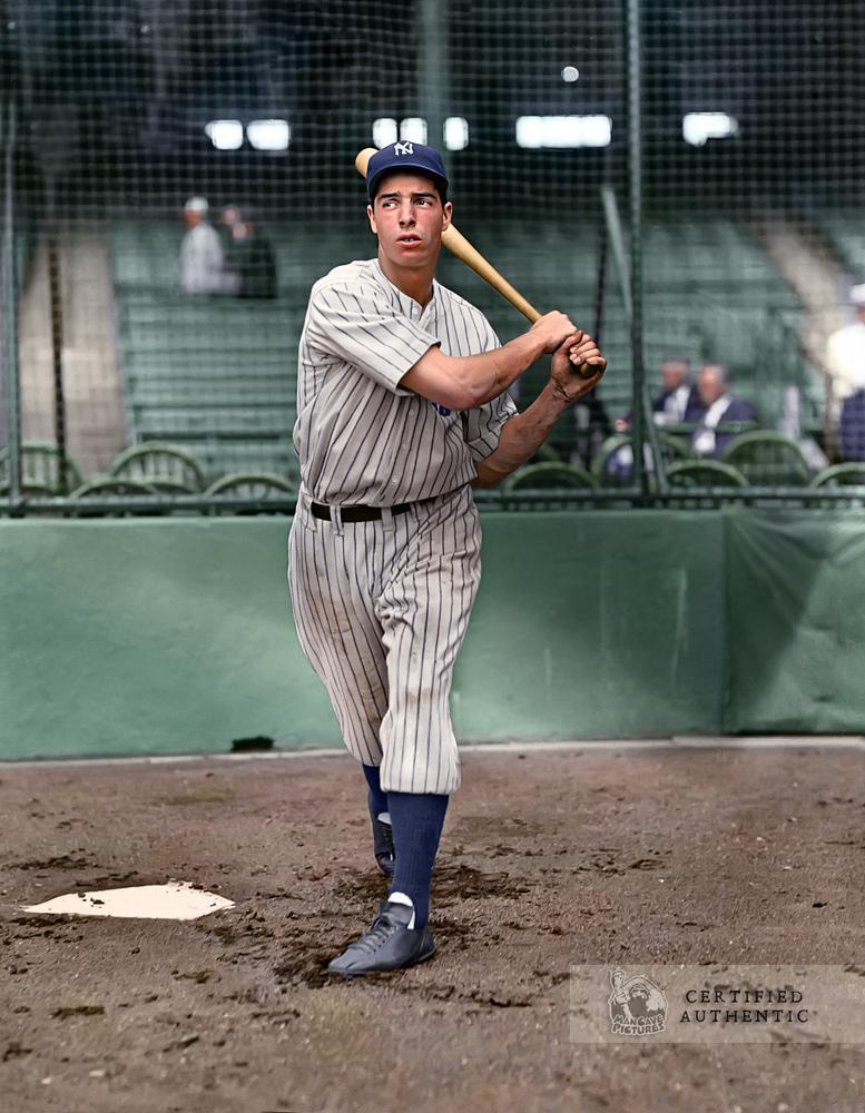 Joe DiMaggio - New York Yankees Rookie (1936)