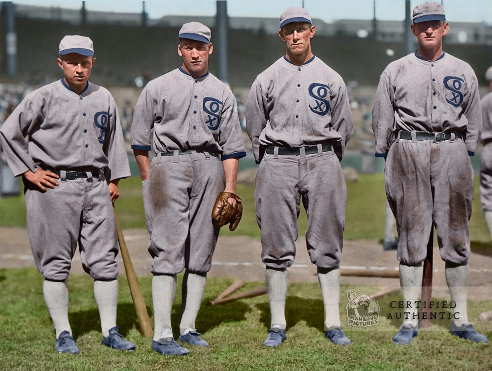 Chicago White Sox Outfielders (1919)