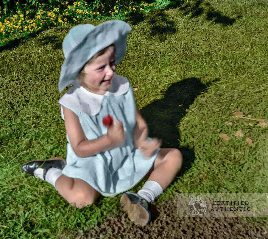 Young Girl in Garden (1931)
