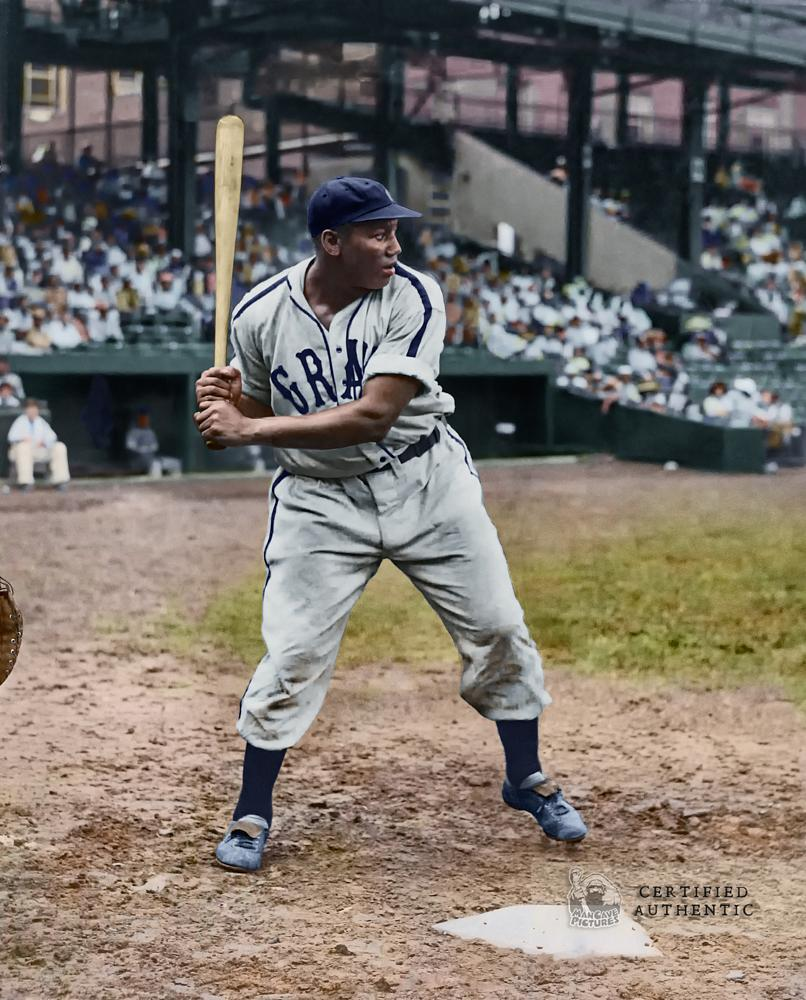 Josh Gibson at Bat - Homestead Grays (1942)