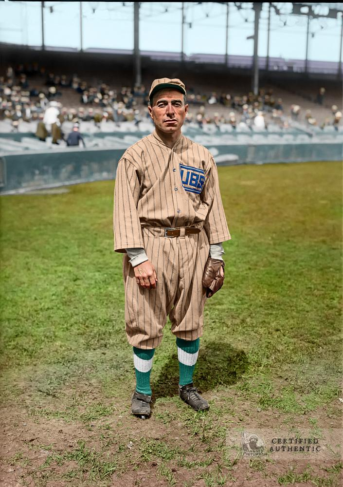 Fred Mitchell - Manager, Chicago Cubs (1918)