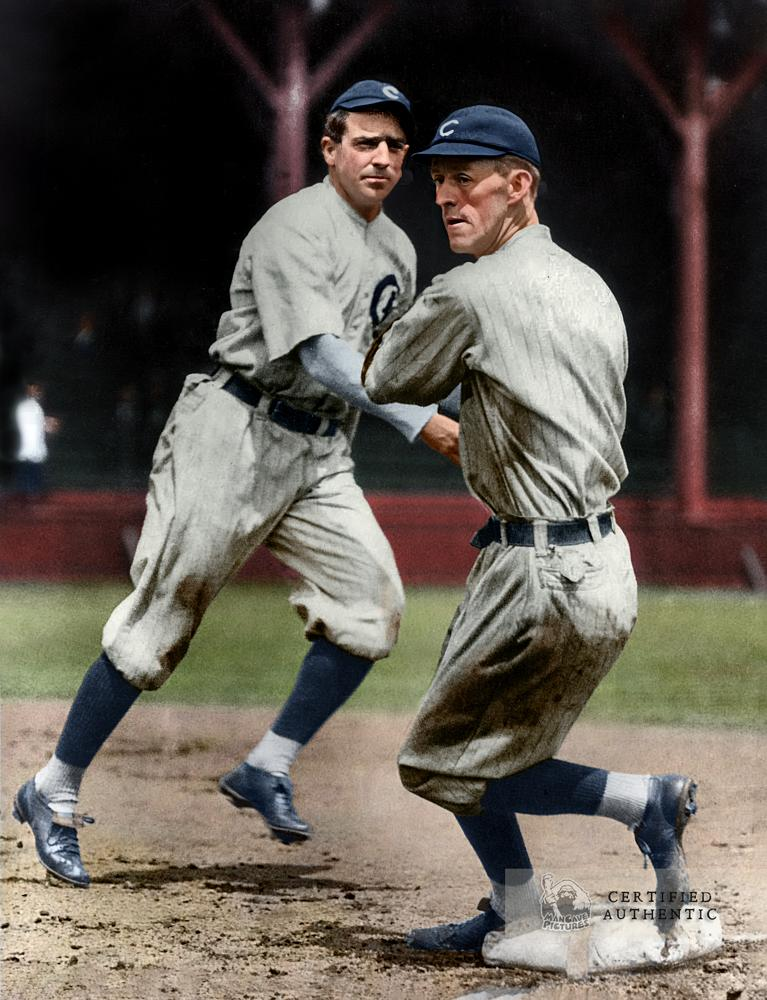 Joe Tinker to Johnny Evers - Chicago Cubs (1908)