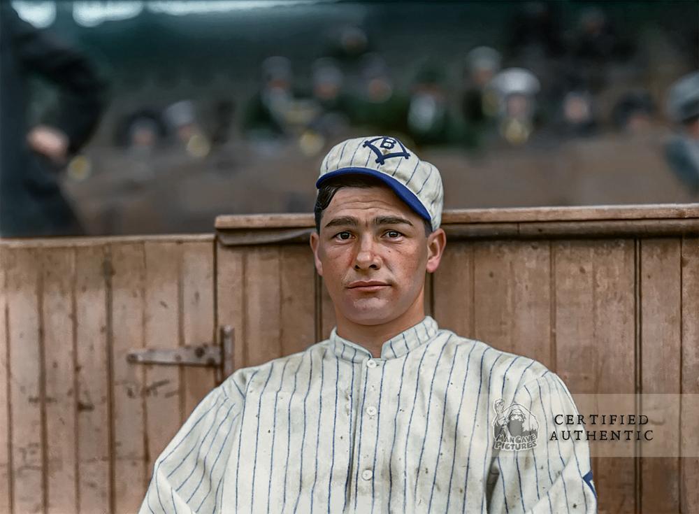 Zack Wheat - Brooklyn Superbas (1912)