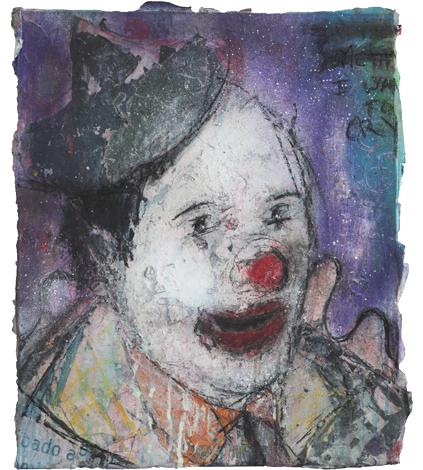 Clown IV_Técnica Mista S/Tela_50x60 cm