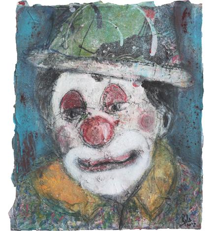 Clown II_Técnica Mista S/Tela_50x60 cm