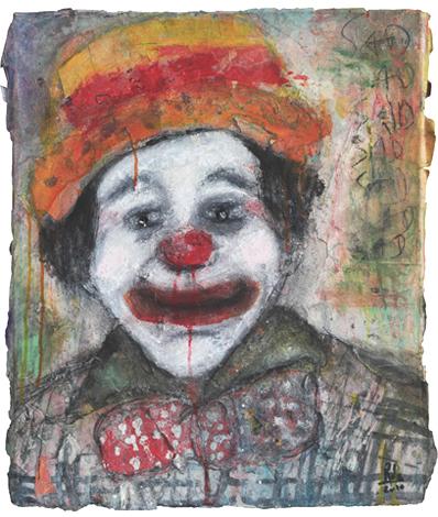 Clown_Técnica Mista S/Tela_50x60 cm