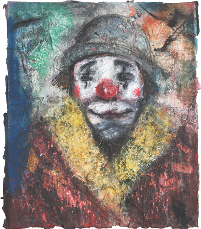 Clown VI_Técnica Mista S/Tela_50x60 cm