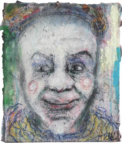 Clown III_Técnica Mista S/Tela_50x60 cm