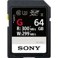 Sony G SD Card