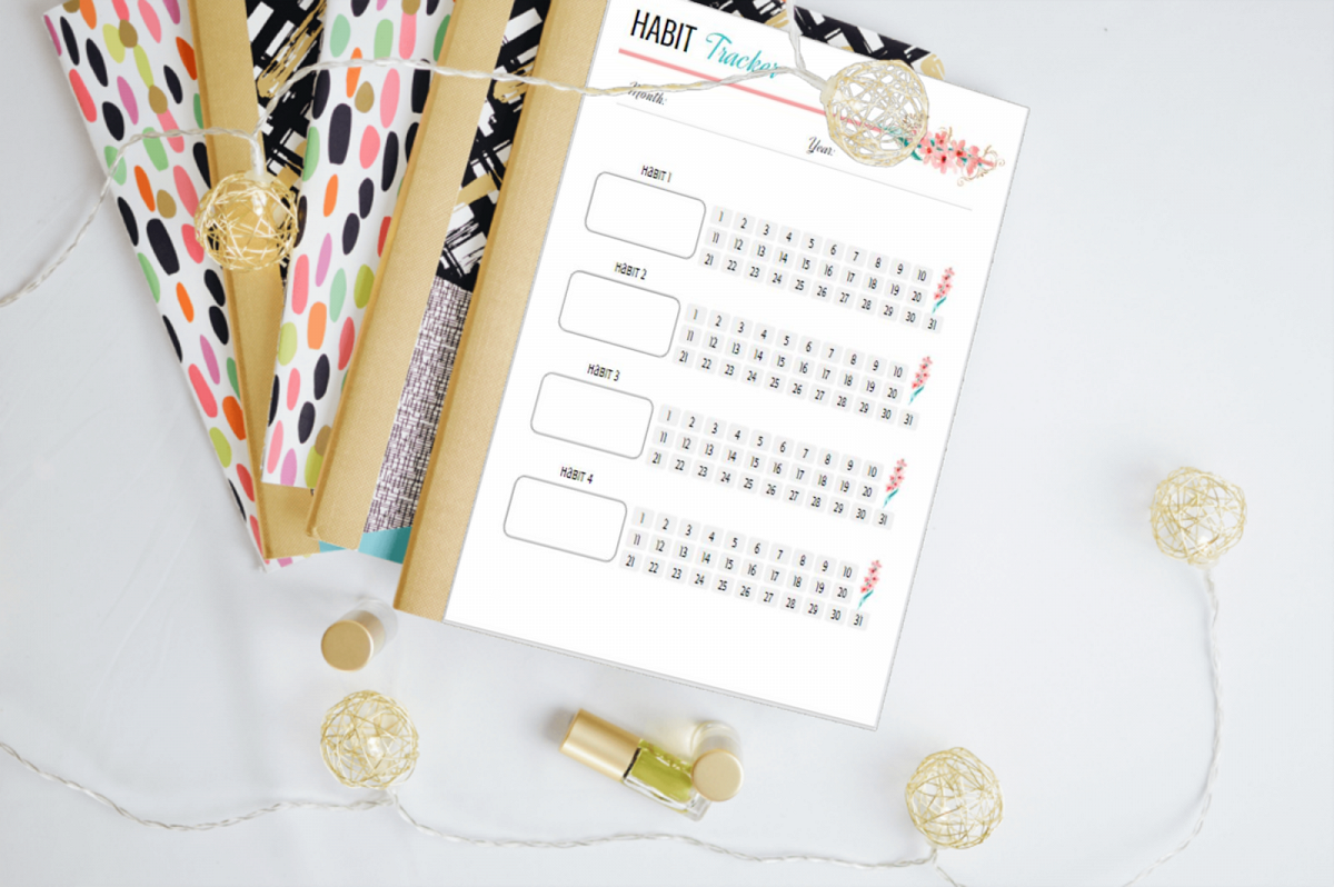 Planning Addicts.com New Year, New You Planner