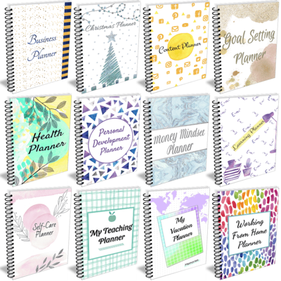 The Big Planner Bundle V2 Templates from HappyJournals