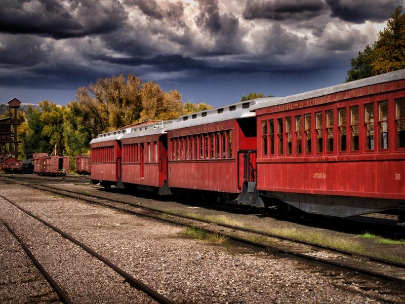 Cumbres and Toltec Railroad Chama New Mexico