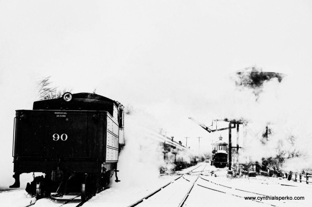 Strasburg Rail Road in Winter