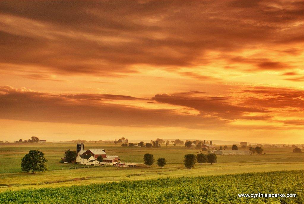 Sunrise in PA Dutch Country