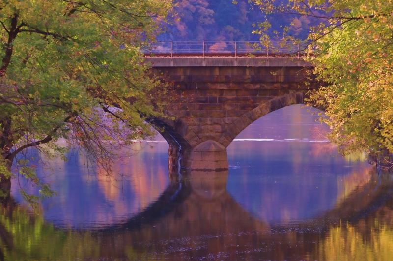 Old Stone Bridge along the Northwest River Trail