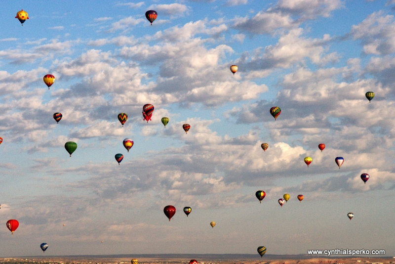 Albuquerque New Mexico's Famous Balloon Fiesta