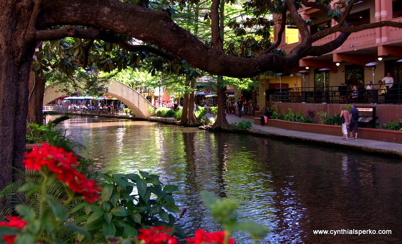 The River Walk in San Antonio Texas